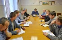 Главы поселений встретились с представителями компании ООО «Чистоград»
