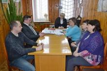 Глава района встретился с коллективом редакции районной газеты