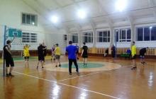 Новогодние соревнования по волейболу