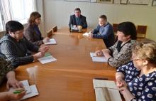 Глава района провел совещание с руководителями организаций системы потребительской кооперации