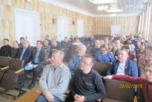 Глава района принял участие в выездном кустовом совещании