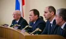 Игорь Комаров представил Дениса Паслера – врио губернатора Оренбургской области
