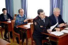 Прошло очередное заседание межведомственной комиссии по профилактике преступлений и правонарушений Унинского района