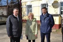 Владимир Климов посетил с рабочим визитом Советский район