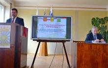 Глава района А.В. Шаклеин  выступил с отчетом по итогам работы за 2018 год