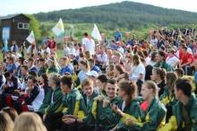 Кировские спортсмены приняли участие в торжественном открытии «Туриады – 2019»