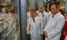 Открытие завода кабин для нового модельного ряда грузовиков «КамАЗ»