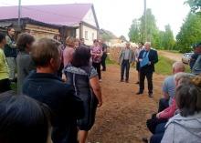 Глава городского поселения проводит встречи с населением