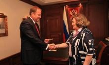 Игорь Комаров вручил удостоверение судьи председателю Верховного суда Республики Башкортостан