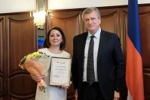 Игорь Васильев вручил благодарности победителям конкурса президентских грантов