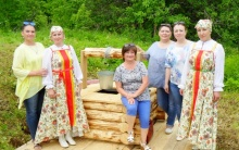 Делегация района на Петровском Заговенье