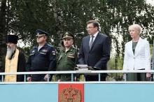 В Кирове состоялась торжественная церемония отправки призывников в Вооруженные Силы РФ