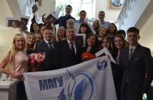 Владимир Климов вручил дипломы выпускникам МАГУ