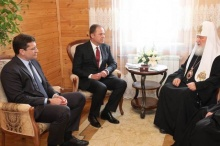 Встреча полномочного представителя Президента РФ в ПФО с Патриархом Кириллом