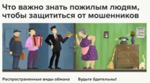 РЕКОМЕНДАЦИИ ГРАЖДАНАМ: как не стать жертвой мошенников