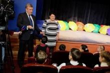 Актеры Вятского колледжа культуры выступили перед учащимися православной гимназии