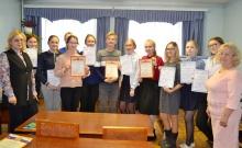 Состоялся районный этап областной олимпиады школьников по избирательному праву