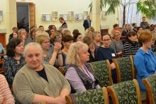 Сотрудникам областных, муниципальных, сельских и школьных библиотек вручили награды