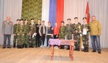 В Унинском районе почтили память воинов, погибших в Северо-Кавказском регионе и других горячих точках