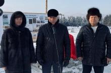 В Унинском районе заложили символический камень в основание новой фермы