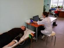 Почти 1300 человек прошли обследование с помощью мобильного Центра здоровья с начала года
