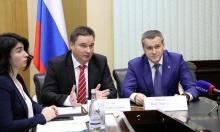 Олег Машковцев поздравил сотрудников дипломатического представительства с профессиональным праздником