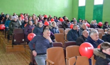 Министр информационных технологий и связи области провел в д. Канахинцы встречу с жителями