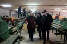 Игорь Васильев посетил лесоперерабатывающее предприятие в Сунском районе