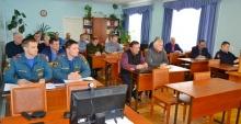 Обсуждены меры по обеспечению пожарной безопасности и вопросы подготовки к половодью