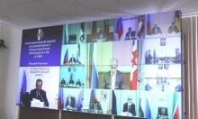 Игорь Комаров провел видеоконференцию с главами регионов ПФО