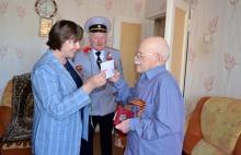 Глава района навестила участника войны и поздравила с юбилейным Днем Победы