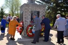 Возложение цветов к памятникам состоялось в ограниченном формате