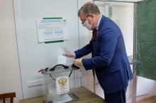 Игорь Васильев проголосовал по поправкам в Конституцию РФ