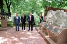 В Кировской области открыли мемориал бойцам 311-й стрелковой Двинской Краснознаменной ордена Суворова дивизии