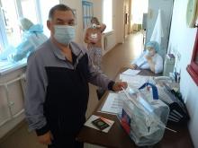 Пациентам стационаров медицинских учреждений региона предоставлена возможность принять участие в голосовании