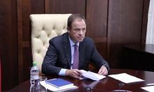 Игорь Комаров принял участие в совещании с Дмитрием Чернышенко