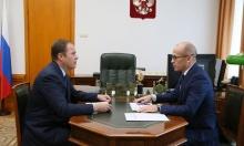 Игорь Комаров провел рабочую встречу с Главой Удмуртской Республики
