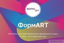 В 2020 году впервые организован Фестиваль стрит-арта Приволжского федерального округа «ФормАrt»