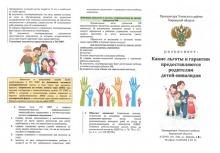 Какие льготы и гарантии предоставляются родителям детей-инвалидов