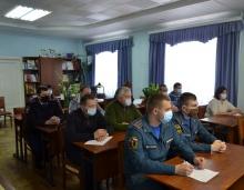 Заседание комиссии по предупреждению и ликвидации чрезвычайных ситуаций в преддверии Новогодних и Рождественских праздников