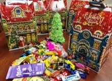 Новогодние сладкие подарки - детям нашего района