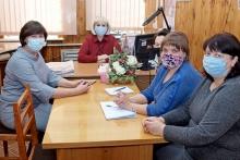 Глава района Т.Ф.Боровикова встретилась с коллективом редакции районной газеты   в День российской печати
