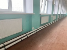 Модернизация системы отопления в школе д. Сибирь
