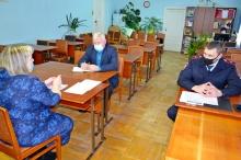 Прошло заседание районного штаба ДНД