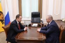 Игорь Комаров представил врио губернатора Пензенской области