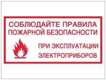 Будьте осторожнее при использовании электрооборудования!