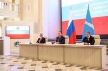 Игорь Комаров представил врио Губернатора Ульяновской области