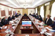 Игорь Комаров провел совещания по социально-экономическому и общественно-политическому развитию Республики Марий Эл