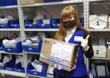 С начала года жители области отправили и получили по почте более 65 000 экспресс-отправлений