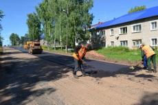 Улица Ленина к юбилею района  приобретает новый облик